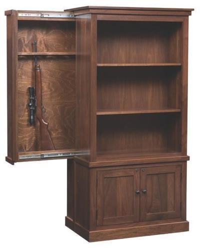 Cambridge Bookcase with Hidden Gun Concealment