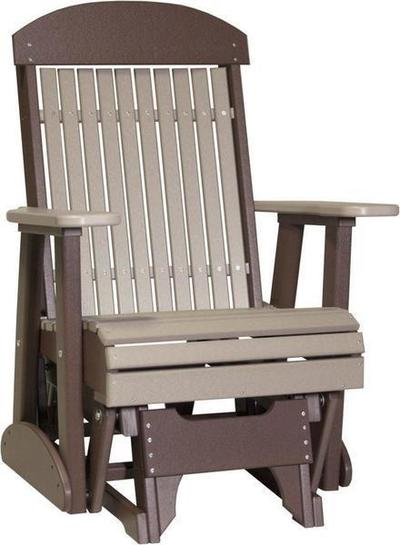LuxCraft 2 Classic Poly Glider Chair