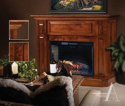 Amish Abbie Fireplace