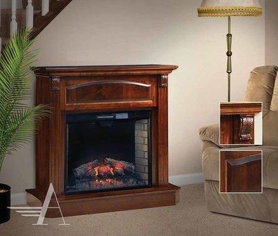 Amish Bremerton Medium Fireplace