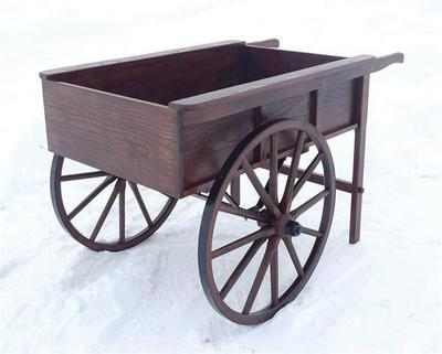Amish Peddlers Cart