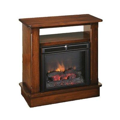Amish Seneca Fireplace with Shelf and Remote