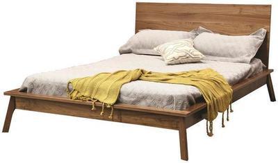 Hastingwood Mid Century Modern Panel Bed