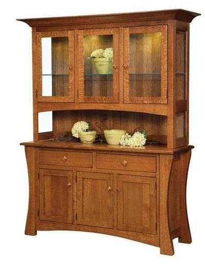 Amish Arts and Crafts Hutch