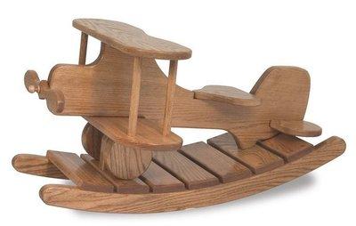 Amish Wooden Airplane Rocker