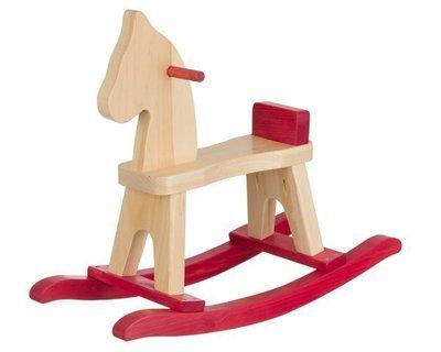 Amish Wooden Rocking Horse