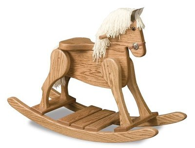 Deluxe Amish Rocking Horse