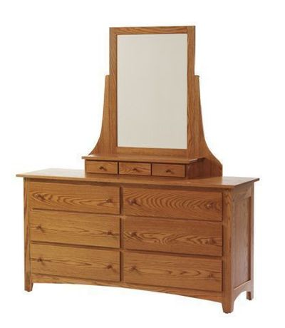 Amish Elizabeth Lockwood Hardwood Dresser