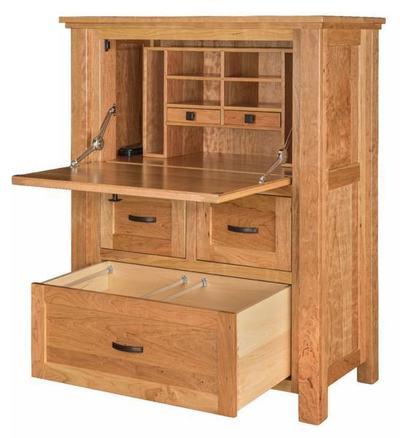 Amish Calloway Secretary Desk