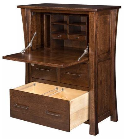 Amish Eldorado Secretary Desk