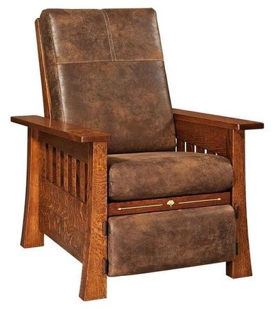 Amish Mesa Recliner with Inlays