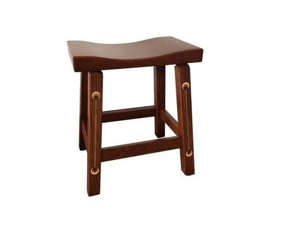 Amish Renwick Backless Barstool