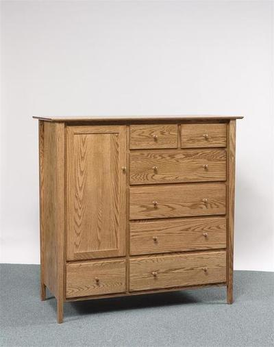 Amish Sheffield Gentleman's Chest of Drawers