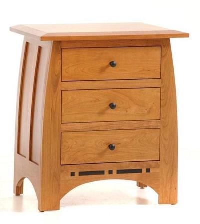 Amish Vineyard Large Nightstand