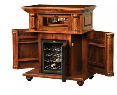 Amish Bryant Wine Cabinet