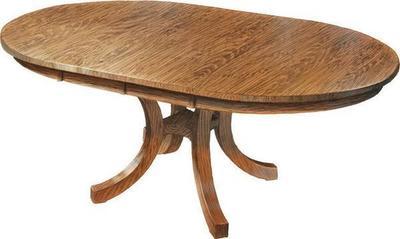 Amish Carlisle Shaker Dining Room Table