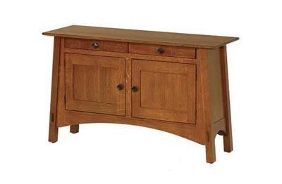 Amish McCoy Luxury Sofa Table