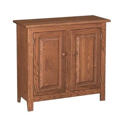 Amish Shaker 2 Door Console Table