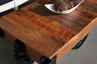 Urban Railroad Cart Coffee Table