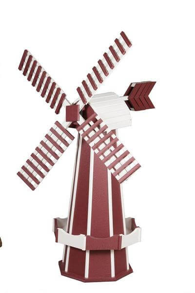 Amish Made Poly Two Tone Dutch Windmill