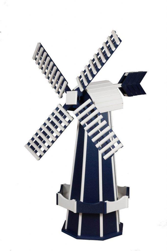 Amish Made Two Tone Dutch Windmill