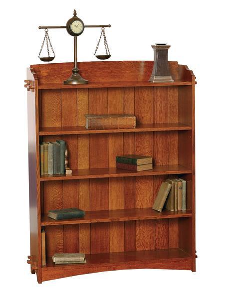 Amish Village Mission Bookcase