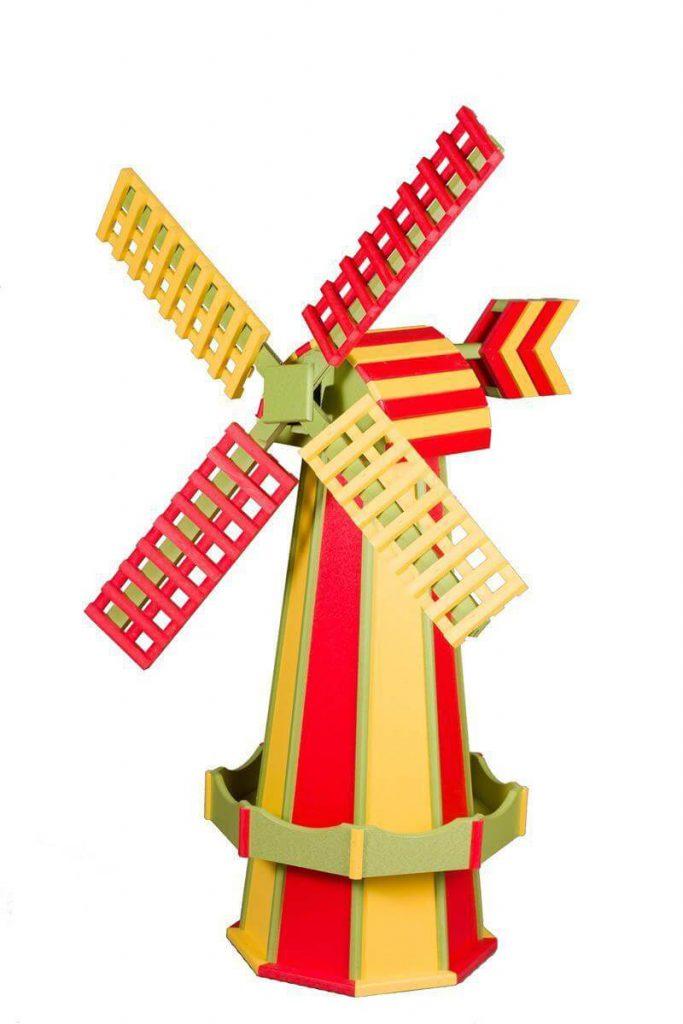 Poly Two Tone Dutch Windmill