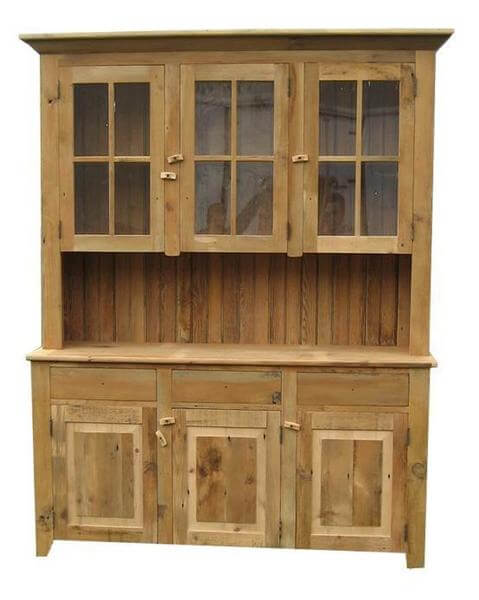 Amish Reclimed Barnwood Candies Hutch