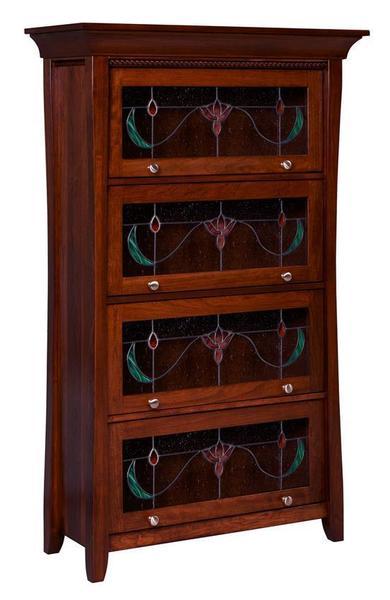 Amish Berkley Barrister Bookcase