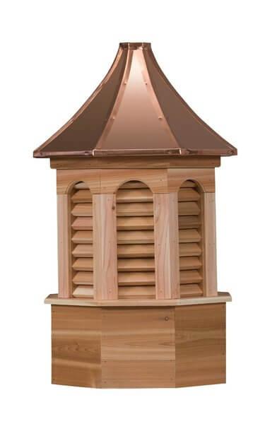 Amish Made Cedar Kingston Cupola