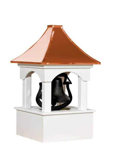 Amish Made Vinyl Bell Tower Cupola