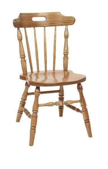 Amish Spindle Mate Side Chair