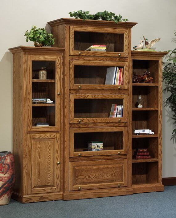Highland Deluxe Barrister Bookcase with Additions