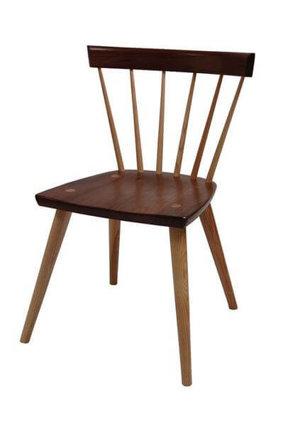 Amish Milo Mid Century Modern Dining Chair