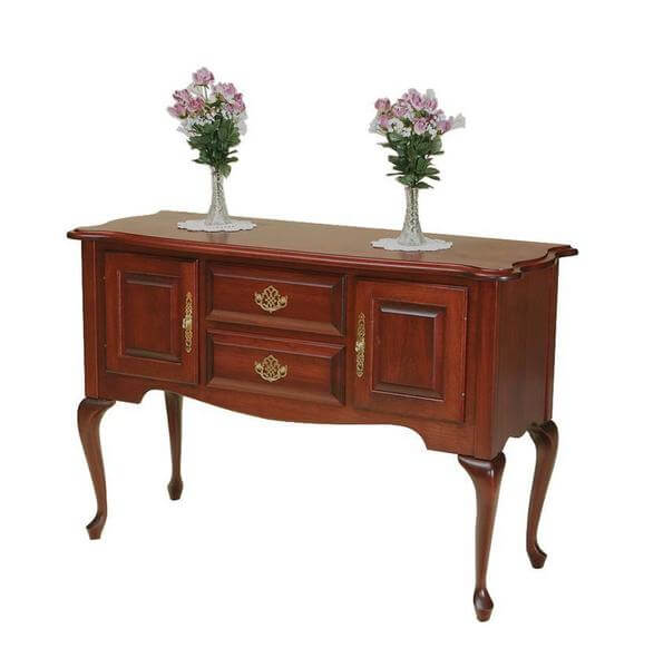 Amish Queen Anne Sideboard