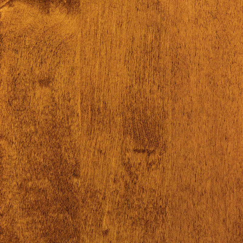 Golden Pecan Stain on Hard Maple Wood