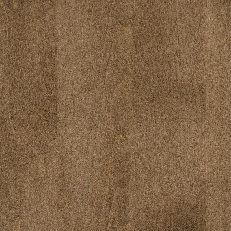 Sandstone Finish on Brown Maple Wood