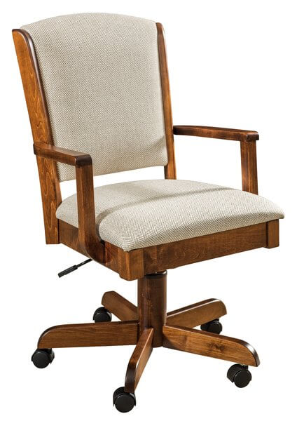 Amish Morris Desk Chair