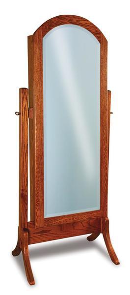 Amish Carlisle Beveled Arch Mirror