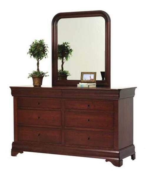 Amish Louis Phillipe 66 Dresser