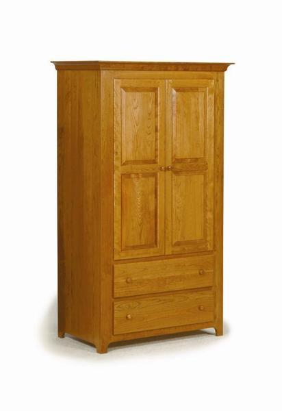 Classic Mission Amish Armoire