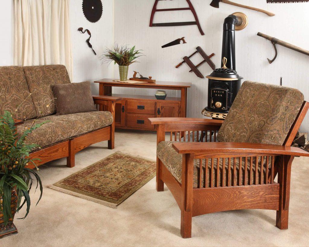 Amish Mission Morris Living Room Furniture