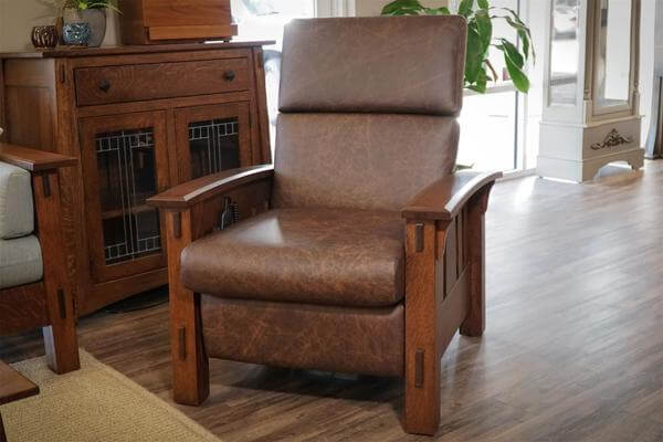 Mission McCoy Recliner with Optional Power Recliner