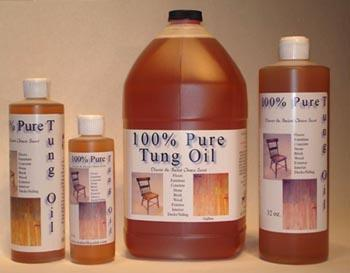 Wood Finishing 100 Pure Tung Oil