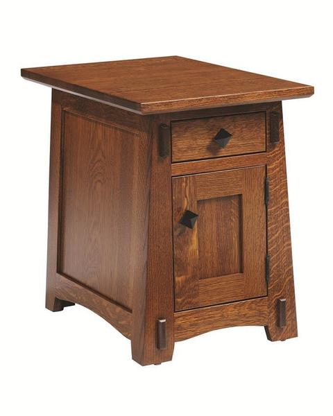 Amish Goshen Chairside Shaker Table