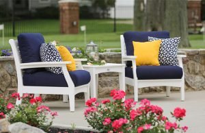 Berlin Gardens Classic Poly Club Chair Set