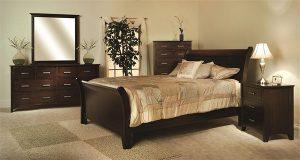 Riverview Brown Maple Bedroom Suite
