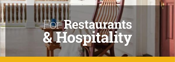 Restaurants and Hospitality