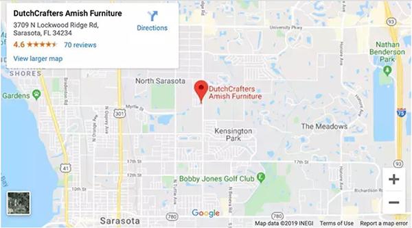 Sarasota Store Map