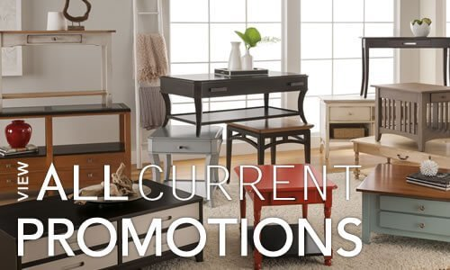 Amish Furniture Sales and Promotions